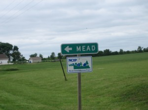 This way to Mead, NE